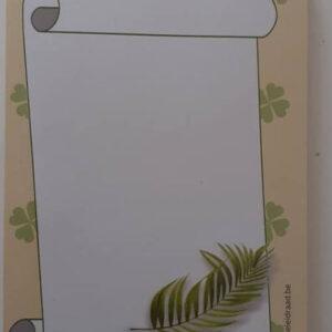 Complimenten notitieboekje