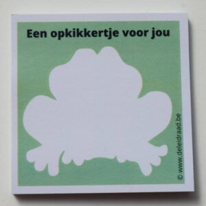 Post it opkikker